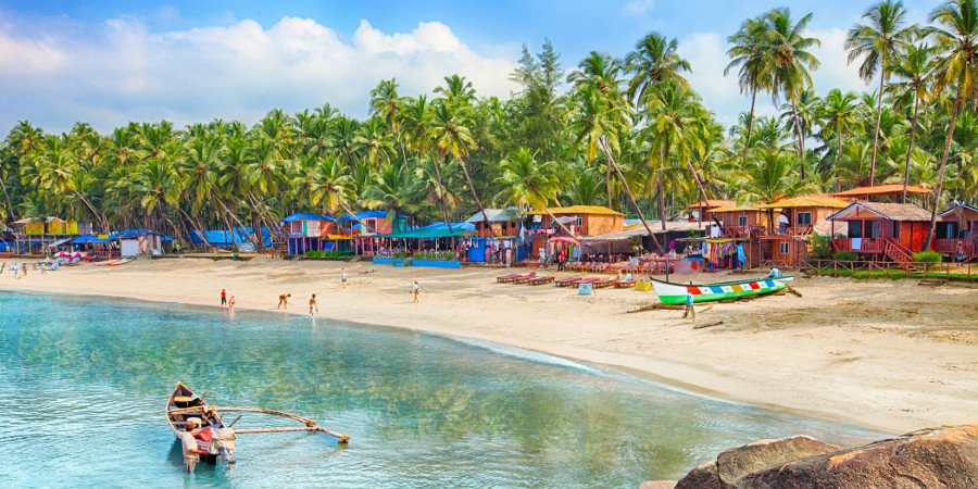 Goa: Palolem Beach